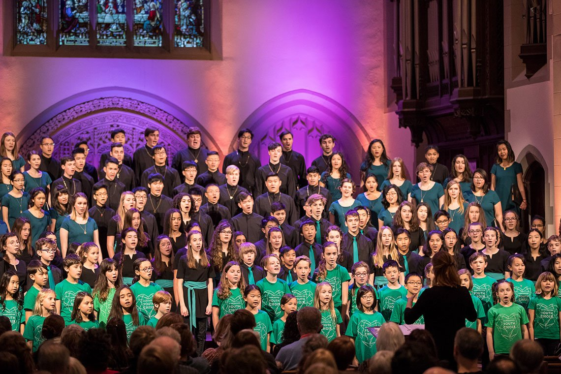 Vancouver Youth Choir in concert