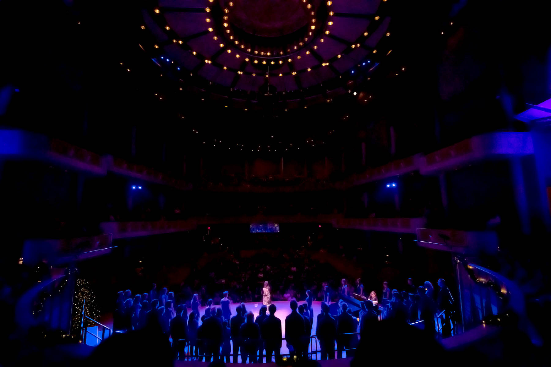 Vancouver Youth Choir live at the Chan Centre